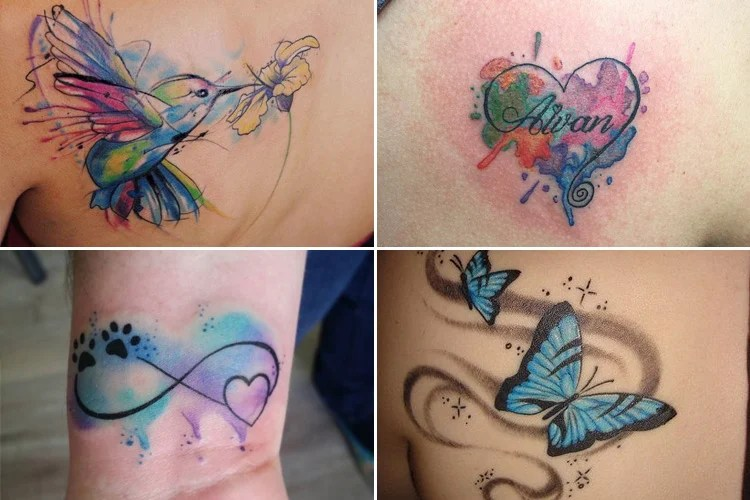 21 Amazing Watercolor Tattoos That Looks Real Ideas And Designs