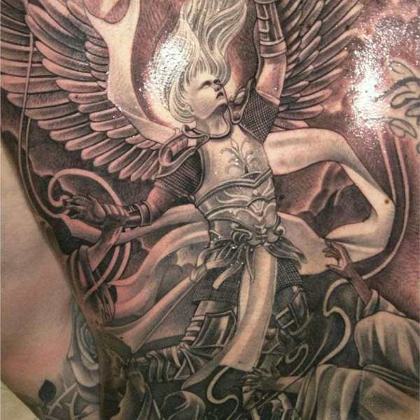 155 Charming Angel Tattoos – Most Popular Designs Of 2019 Ideas And Designs