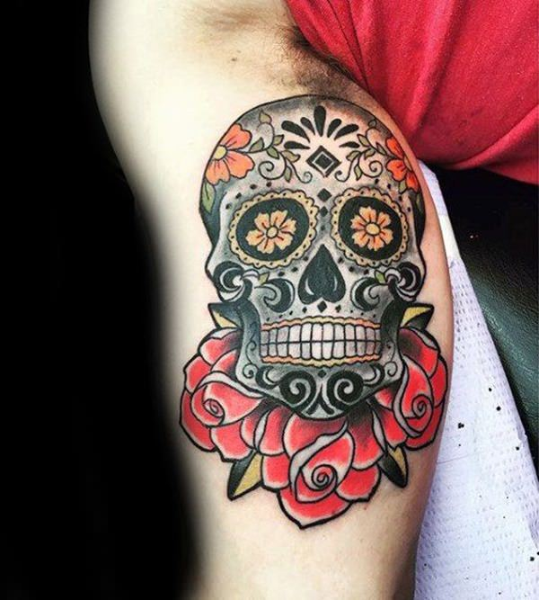 155 Sugar Skull Tattoo Designs With Meaning Wild Tattoo Art Ideas And Designs