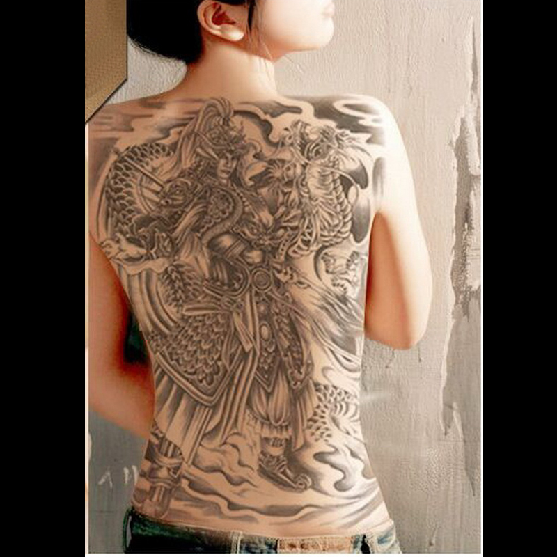 Temporary Tattoos Dragon Darkness 25 Designs Super Large Ideas And Designs