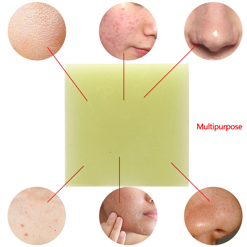 1Pc Sea Salt Soap Body Cleaner Removal Fat Pimple Pores Ideas And Designs