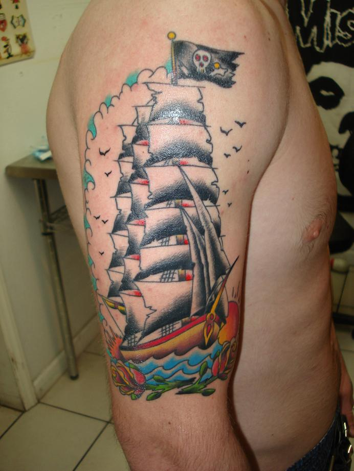 Ship Tattoo Designs Bodysstyle Ideas And Designs