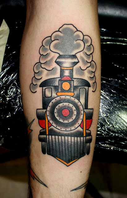 Train Tattoo Designs 18 Bodysstyle Ideas And Designs