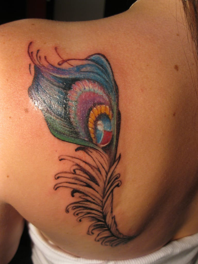 Peacock Feather Meaning Tattoo Creativefan Ideas And Designs