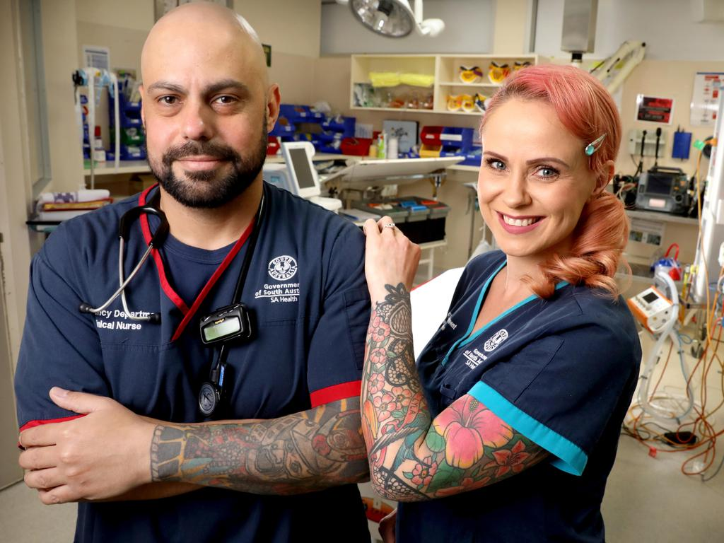 Sa Medics Having Tattoos No Turn Off For Patients Ideas And Designs