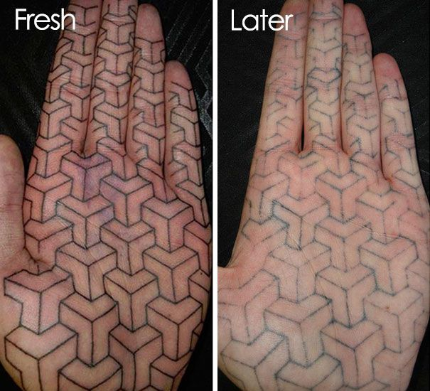 Pictures That Reveal How Tattoos Age Over Time 28 Pics Ideas And Designs