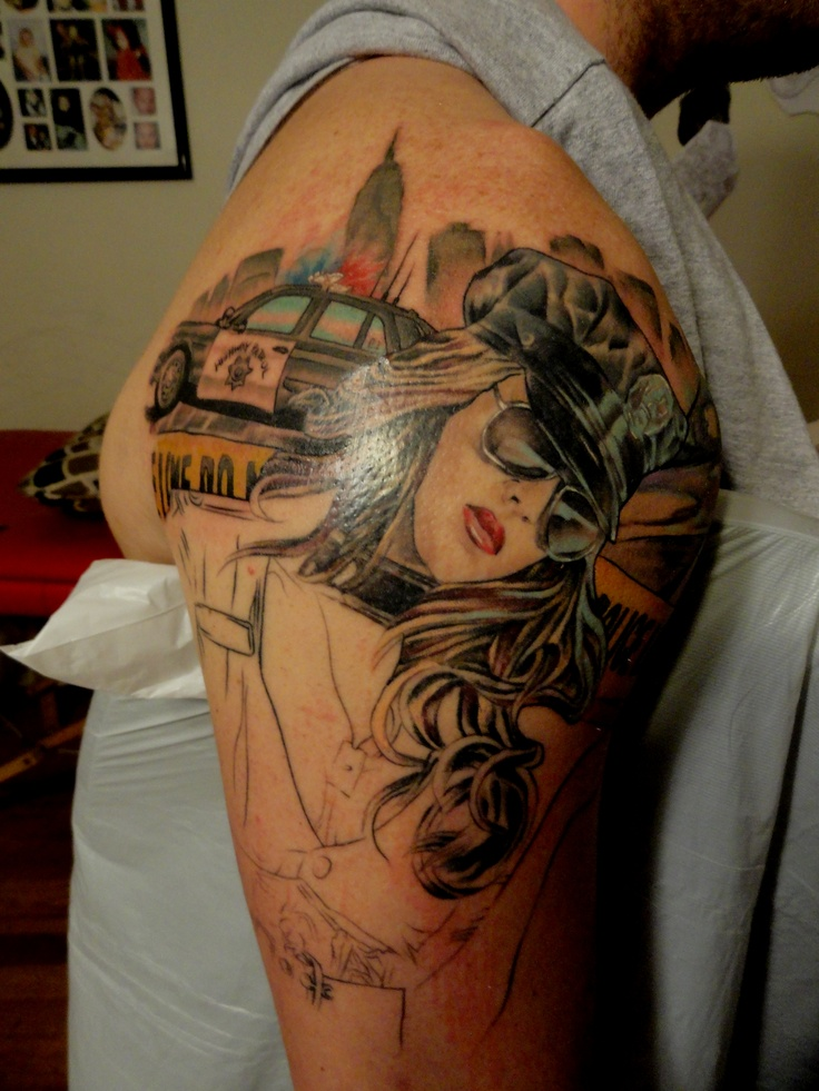 Police Officer Tattoo Quotes Quotesgram Ideas And Designs
