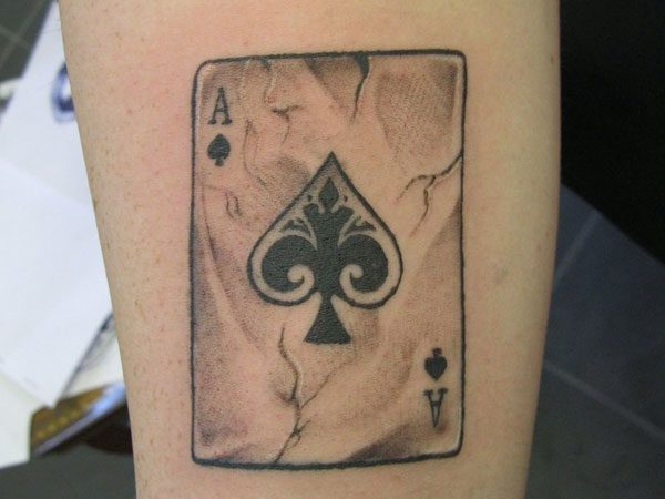 Card Tattoos 25 Addictive Collections Design Press Ideas And Designs