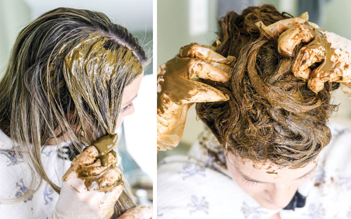 Henna Hair Dye For Covering Gray Hair Detoxinista Ideas And Designs