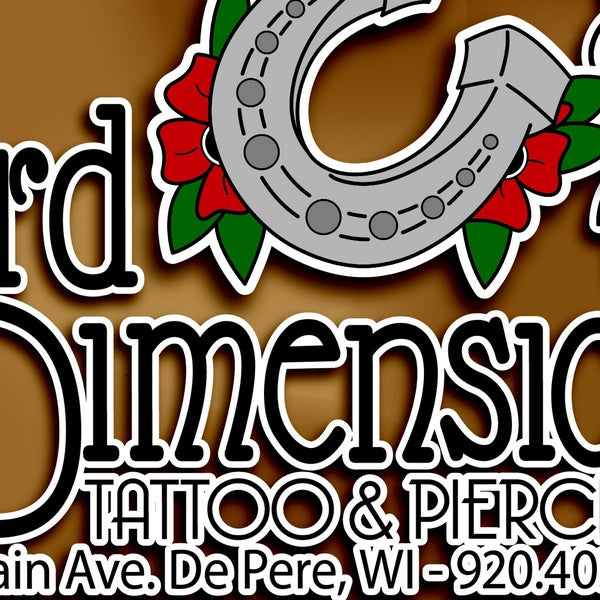 3Rd Dimension Tattoo Piercing Tattoo Parlor In De Pere Ideas And Designs