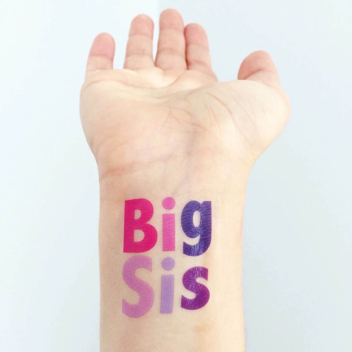 Big Sister Temporary Tattoos Ideas And Designs