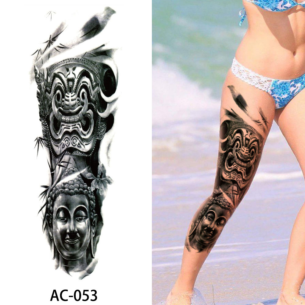 Big Large Full Arm Temporary Tattoo Sticker Beauty Decal Ideas And Designs