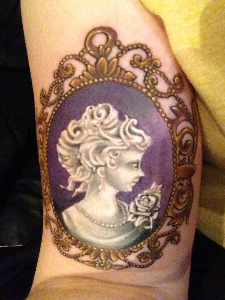 22 Best Cameo Tattoos Images On Pinterest Cameo Tattoo Ideas And Designs