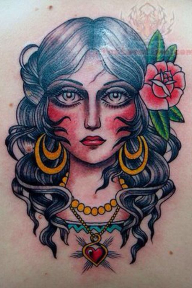 163 Best Tattoos Traditional Girls Images On Pinterest Ideas And Designs