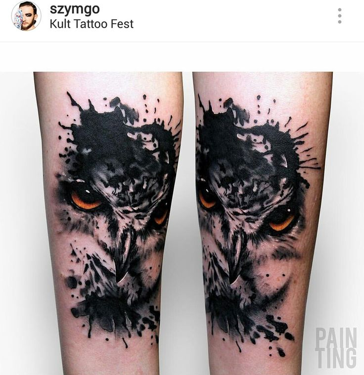 Best 25 Watercolor Owl Tattoos Ideas On Pinterest Owl Ideas And Designs