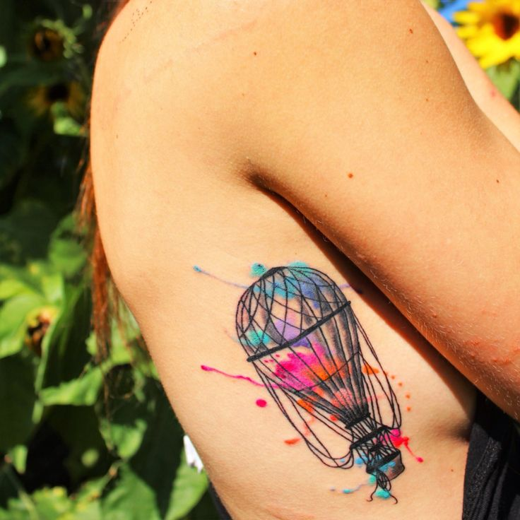 Best 25 Air Balloon Tattoo Ideas On Pinterest Balloon Ideas And Designs