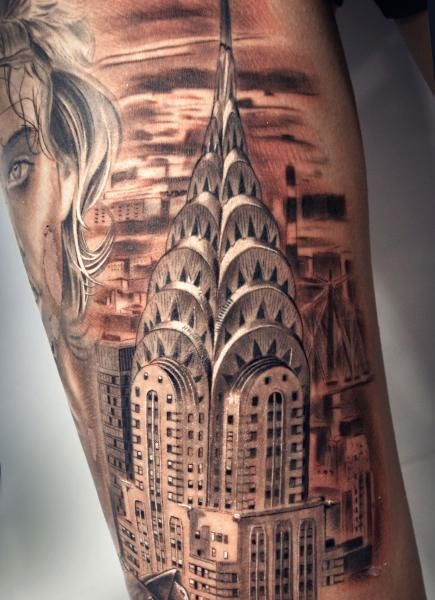 Tattoos And Architecture Extreme Tattoo Tattoos Ideas And Designs