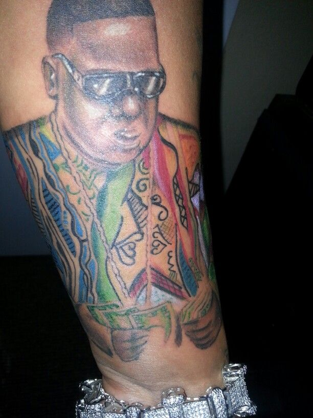 Biggie Smalls Tattoo Biggie Smalls Tattoo Small Ideas And Designs