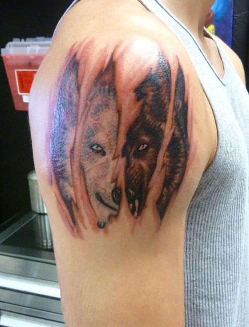 28 Best Blogspot 3D Wolf Tattoo Images On Pinterest Ideas And Designs
