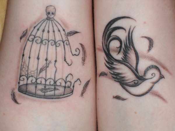 Bird Busting Out Of Cage You Just Got Inked Tattoos Ideas And Designs
