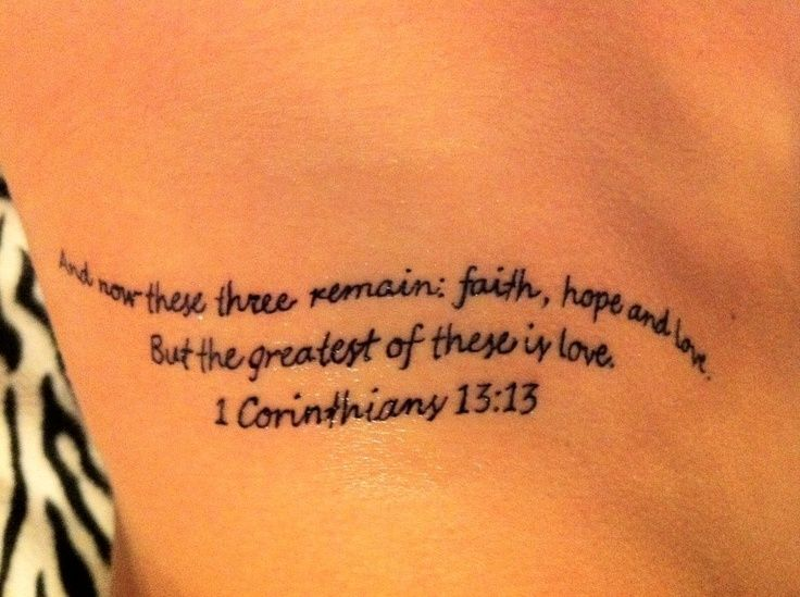 Best 25 Corinthians Tattoo Ideas On Pinterest Faith Ideas And Designs