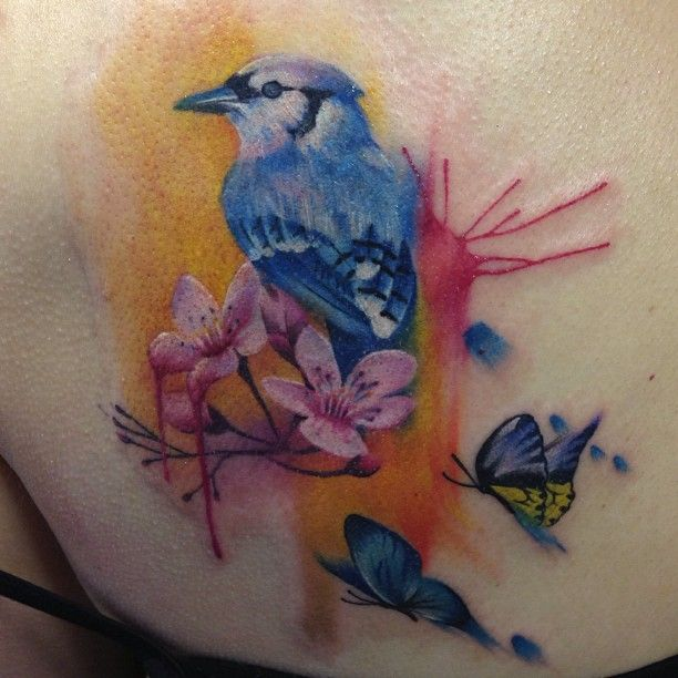 Bird Tattoo By Lianne Moule Be A Utiful Pinterest Ideas And Designs