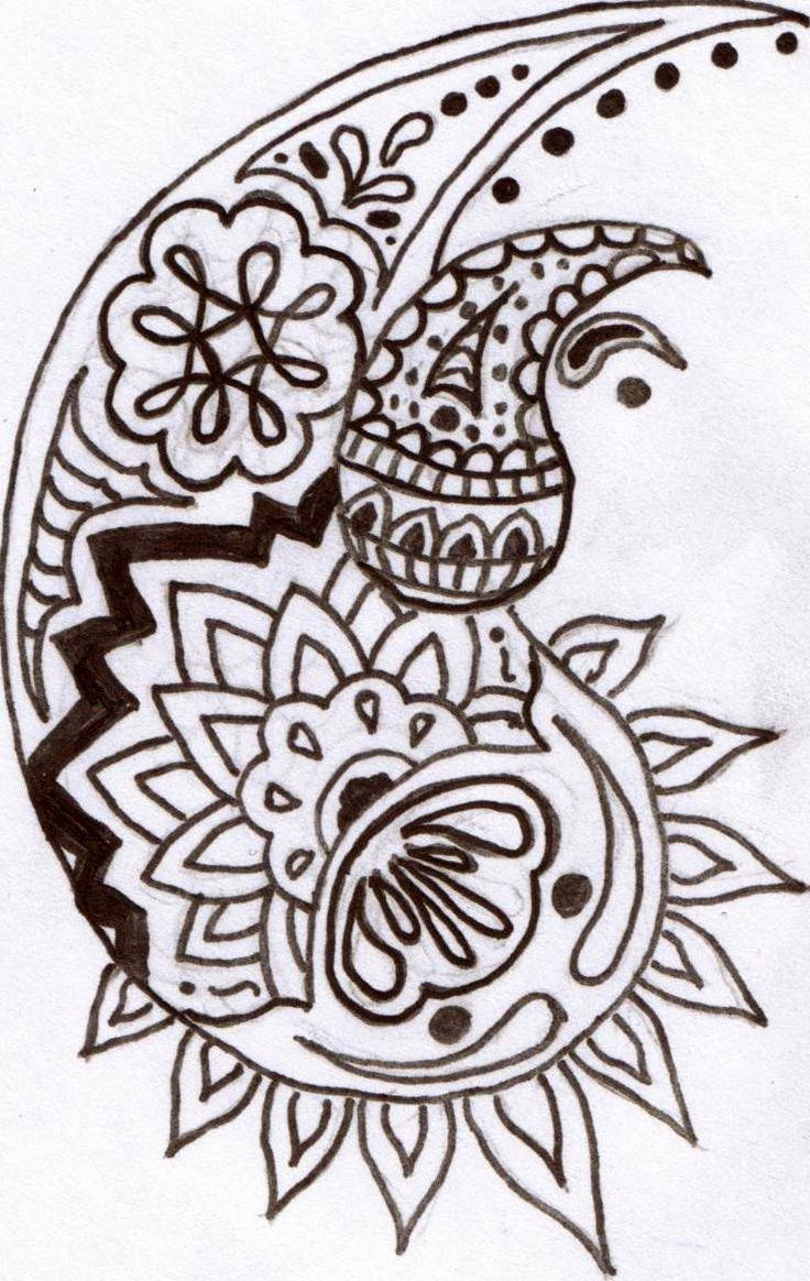 54 Best Art Doodles Paisley Henna Images On Ideas And Designs