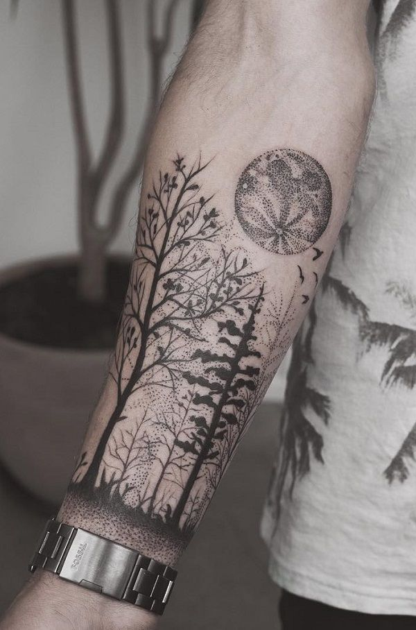 110 Awesome Forearm Tattoos Sleeve Tattoos Forest Ideas And Designs