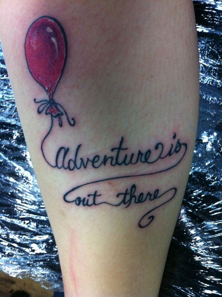 "Fuckyeahtattoos ""Adventure Is Out There"" From The Movie Ideas And Designs"