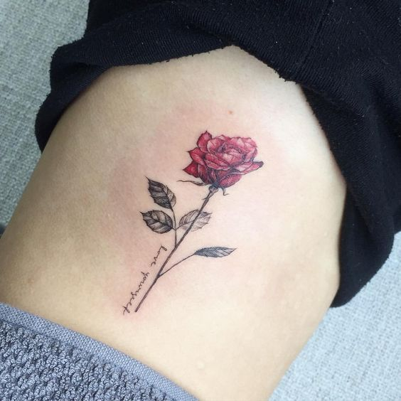Image Result For Rose Tattoo With Name Ink Tattoos Ideas And Designs
