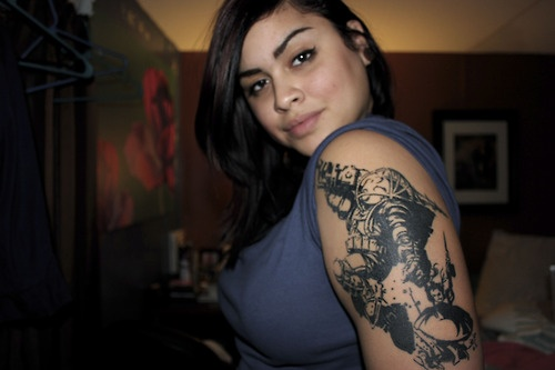 Big Daddy Little Sister Bioshock Tattoos Sleeve Ideas And Designs