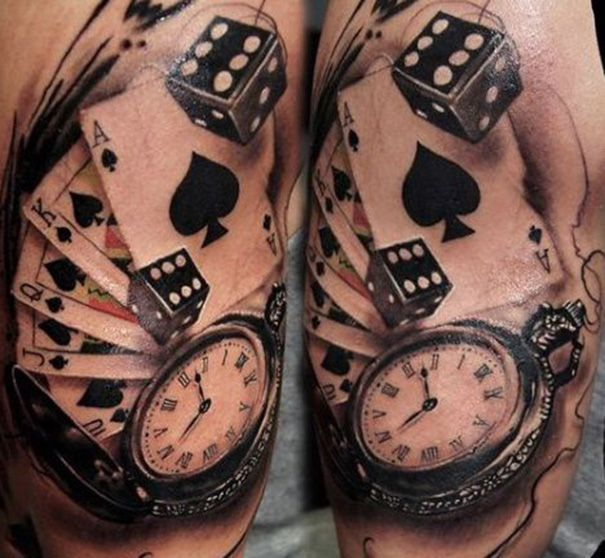 Best 25 Card Tattoo Ideas On Pinterest Deck Of Cards Ideas And Designs