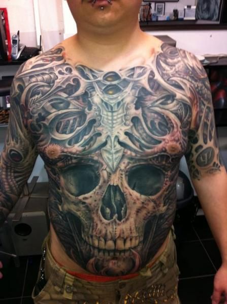 36 Best Skull Stomach Tattoo Designs Images On Pinterest Ideas And Designs