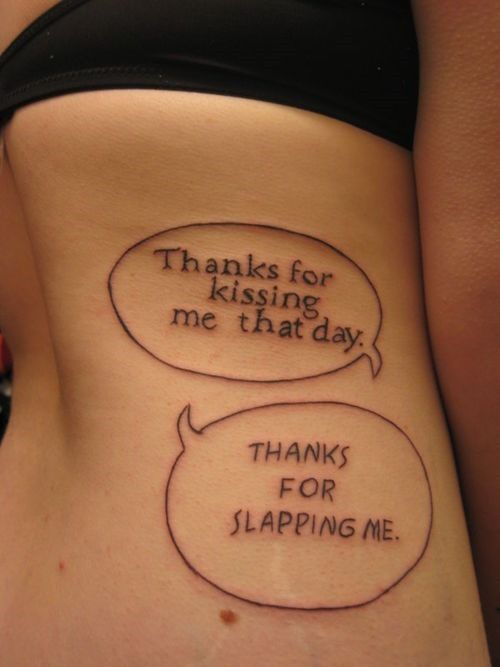 25 Best Funny Tattoo Quotes Images On Pinterest Tatoos Ideas And Designs