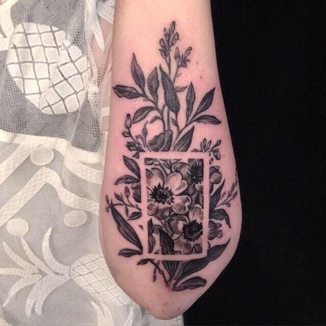 Embedded Image Permalink Ink Tattoos Negative Space Ideas And Designs