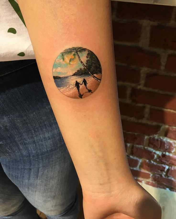 838 Best Palmtree Tattoos Images On Pinterest Palm Ideas And Designs