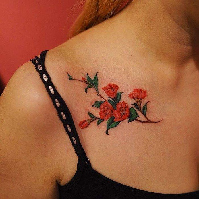 24 Beautiful And Elegant Camellia Tattoo Designs Page 2 Ideas And Designs