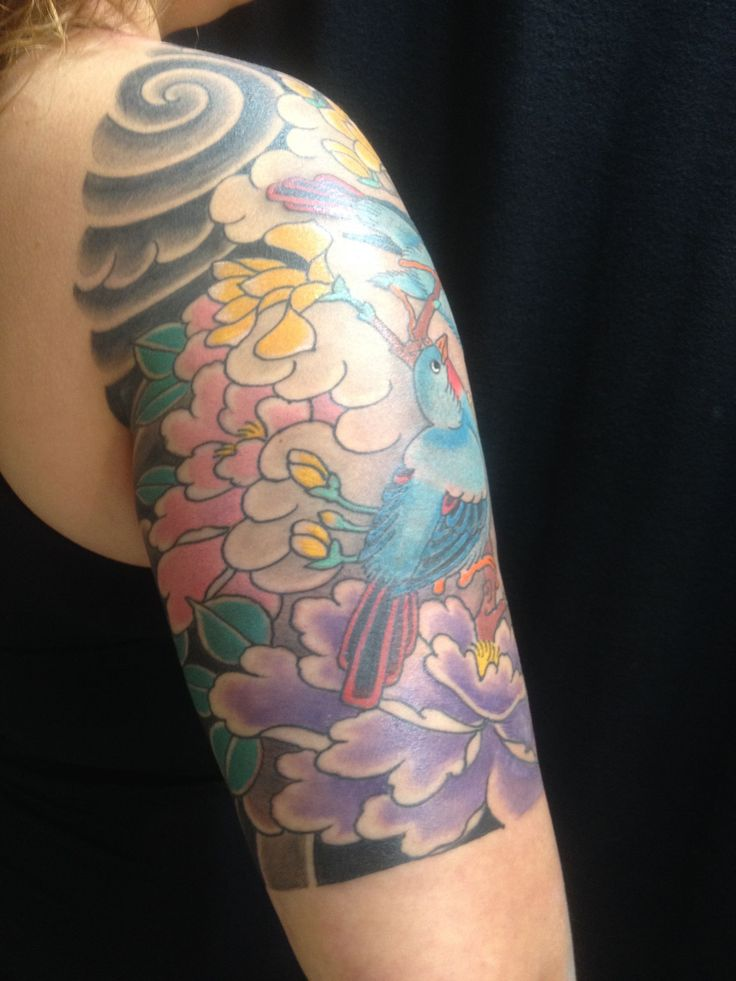 My Second Japanese Sleeve Rick Pacchini Four Elements Ideas And Designs