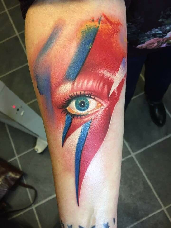 25 Beautiful Bowie Tattoo Ideas On Pinterest David Ideas And Designs