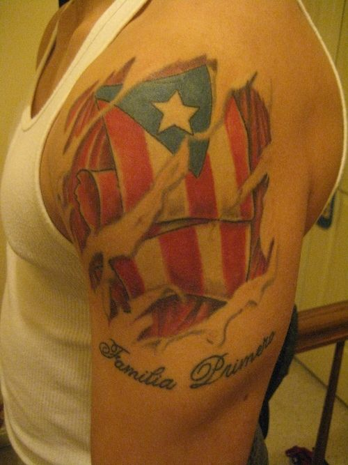 43 Best 3D Puerto Rico Flag Tattoos Images On Pinterest Ideas And Designs