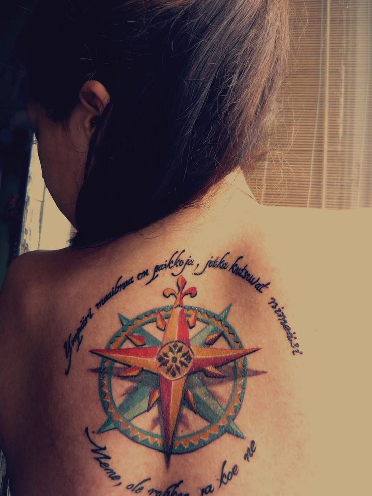 92 Best Compass Tattoo Images On Pinterest Compass Ideas And Designs