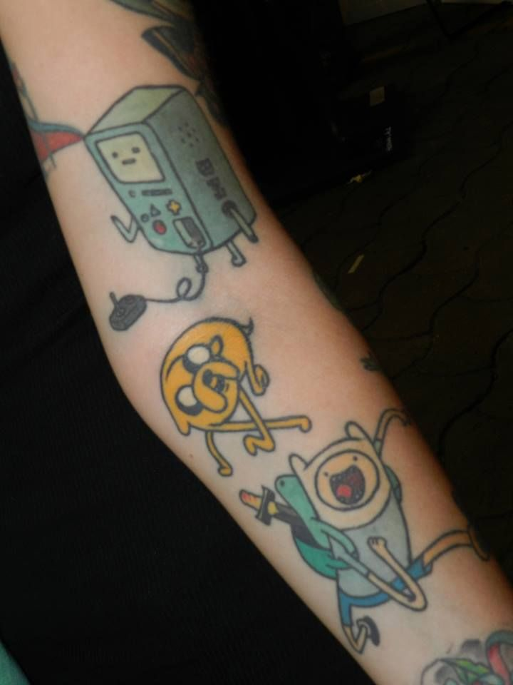17 Best Adventure Time Tattoos Images On Pinterest Ideas And Designs