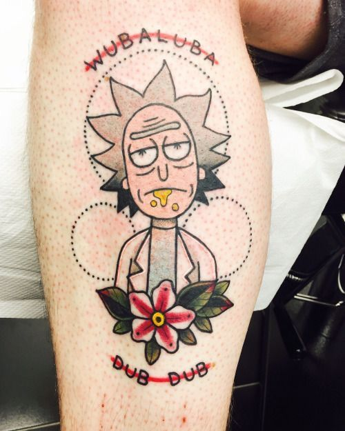 13 Best Rick And Morty Tattoos Images On Pinterest Ideas And Designs