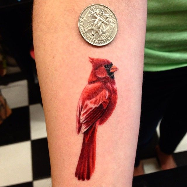 Artful Ink Tattoo Kelly Gelling Cardinal Colors Ideas And Designs