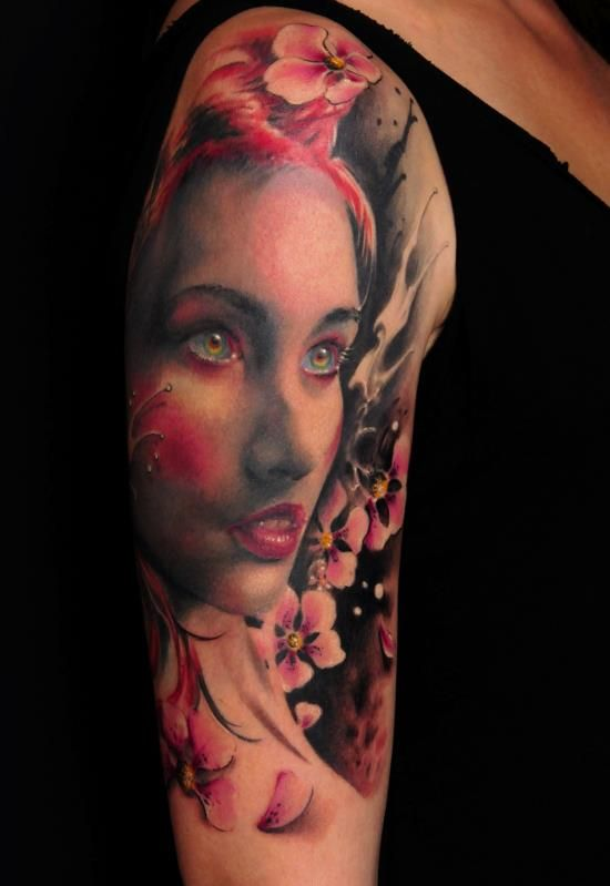 Awesome Tattoos By Florian Karg Tattoo Love Tattoos Ideas And Designs