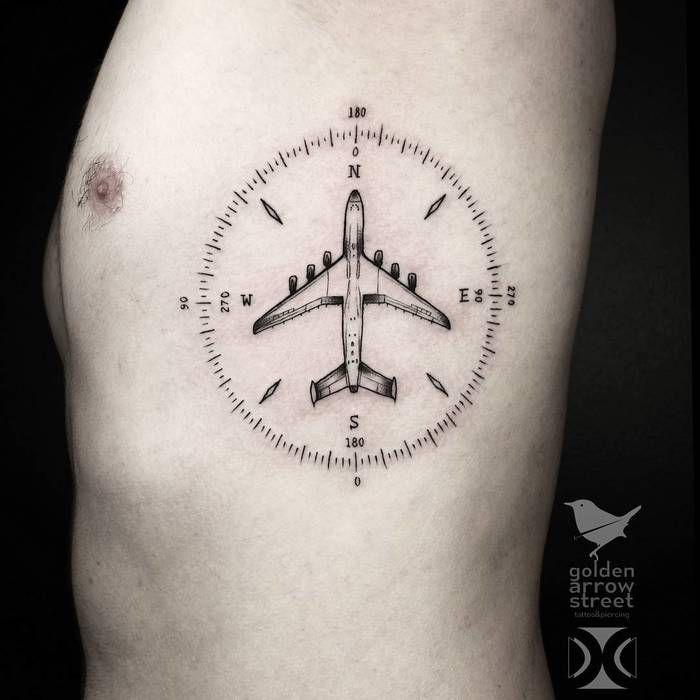 Best 25 Aviation Tattoo Ideas On Pinterest Compass Ideas And Designs