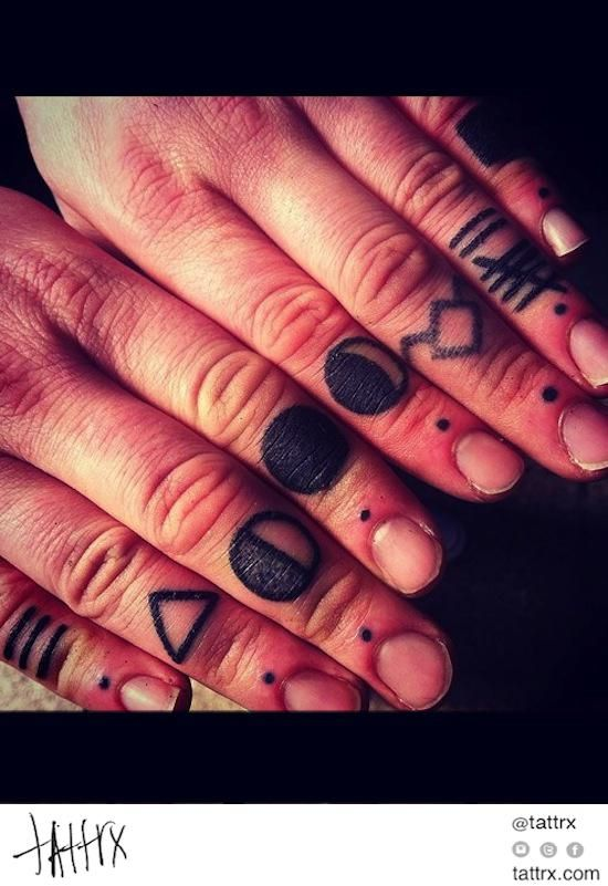 20 Best Three Dots Tattoo On Finger Images On Pinterest Ideas And Designs