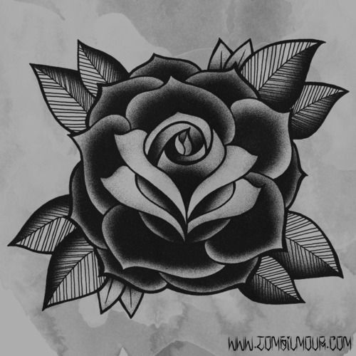 This Is Similar To A Rose My Older Brother Drew For Me And Ideas And Designs