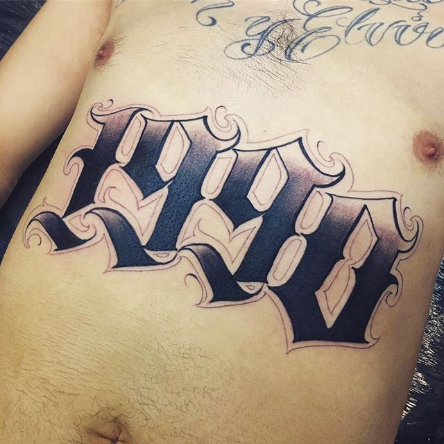 Instagram Post By Orks One Orks Tattoos Lettering Ideas And Designs