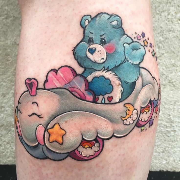 61 Best Care Bear Tattoo Images On Pinterest Care Ideas And Designs